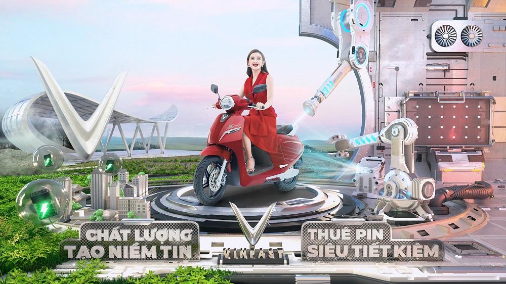 VinFast miễn phí thuê bao pin xe máy điện cho khách hàng