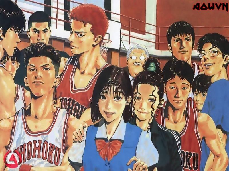 b3nzaNl - [ Anime 3gp Mp4 ] Slam Dunk + Movie | Vietsub + Thuyết minh - Tuổi thơ vẫy gọi!!