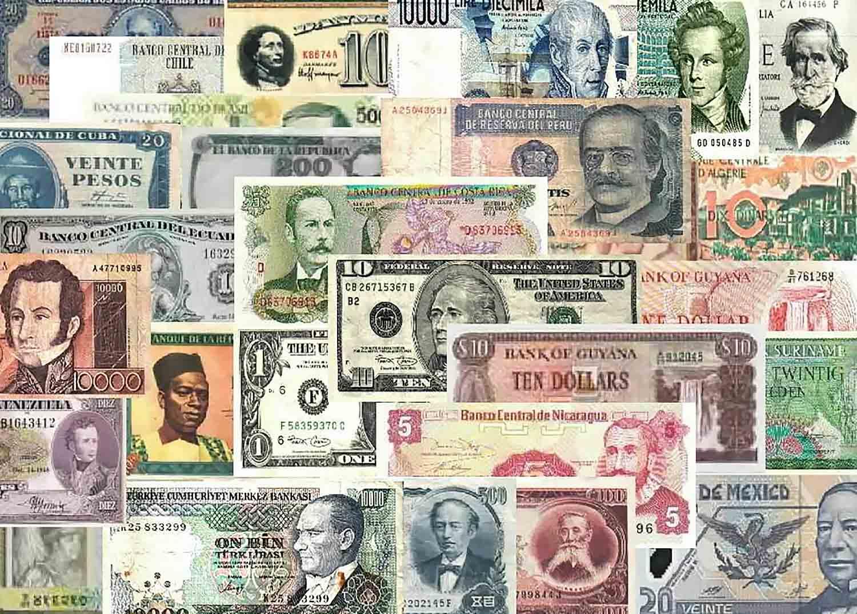 Современные бумажные деньги