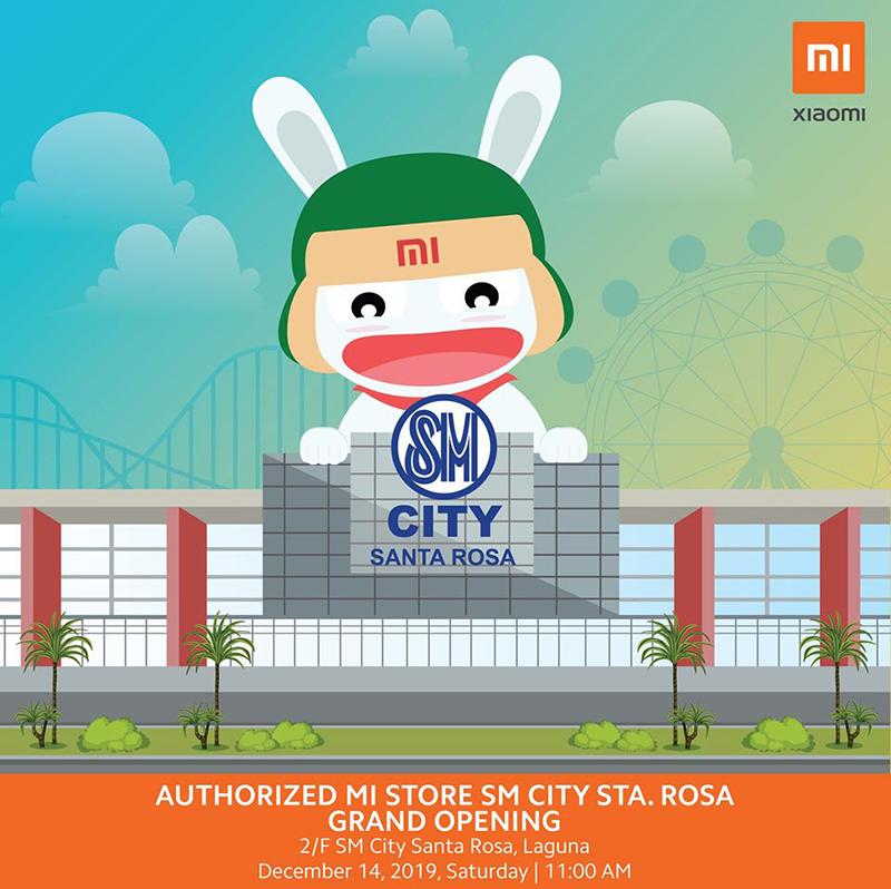 Xiaomi to open Mi Authorized Store at SM City Santa Rosa