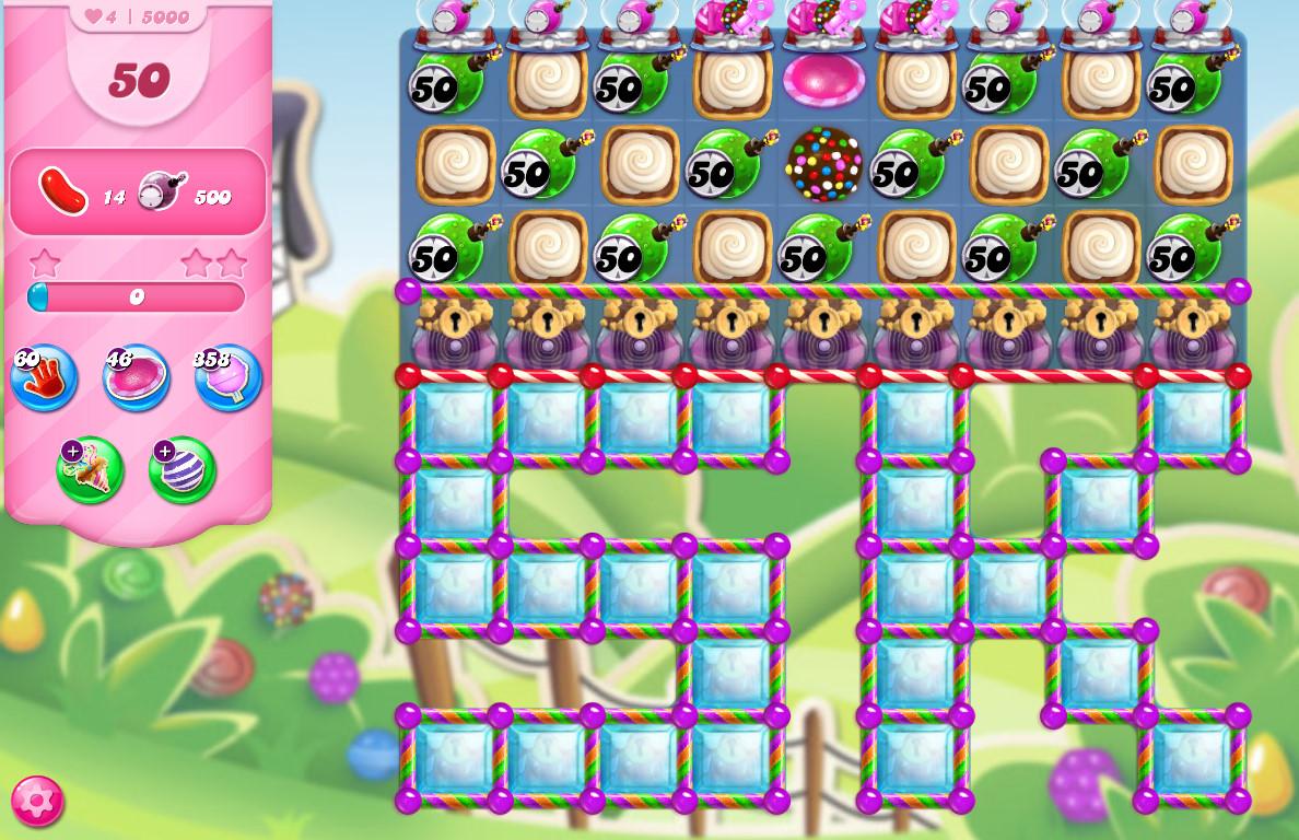 Candy Crush Saga level 5000