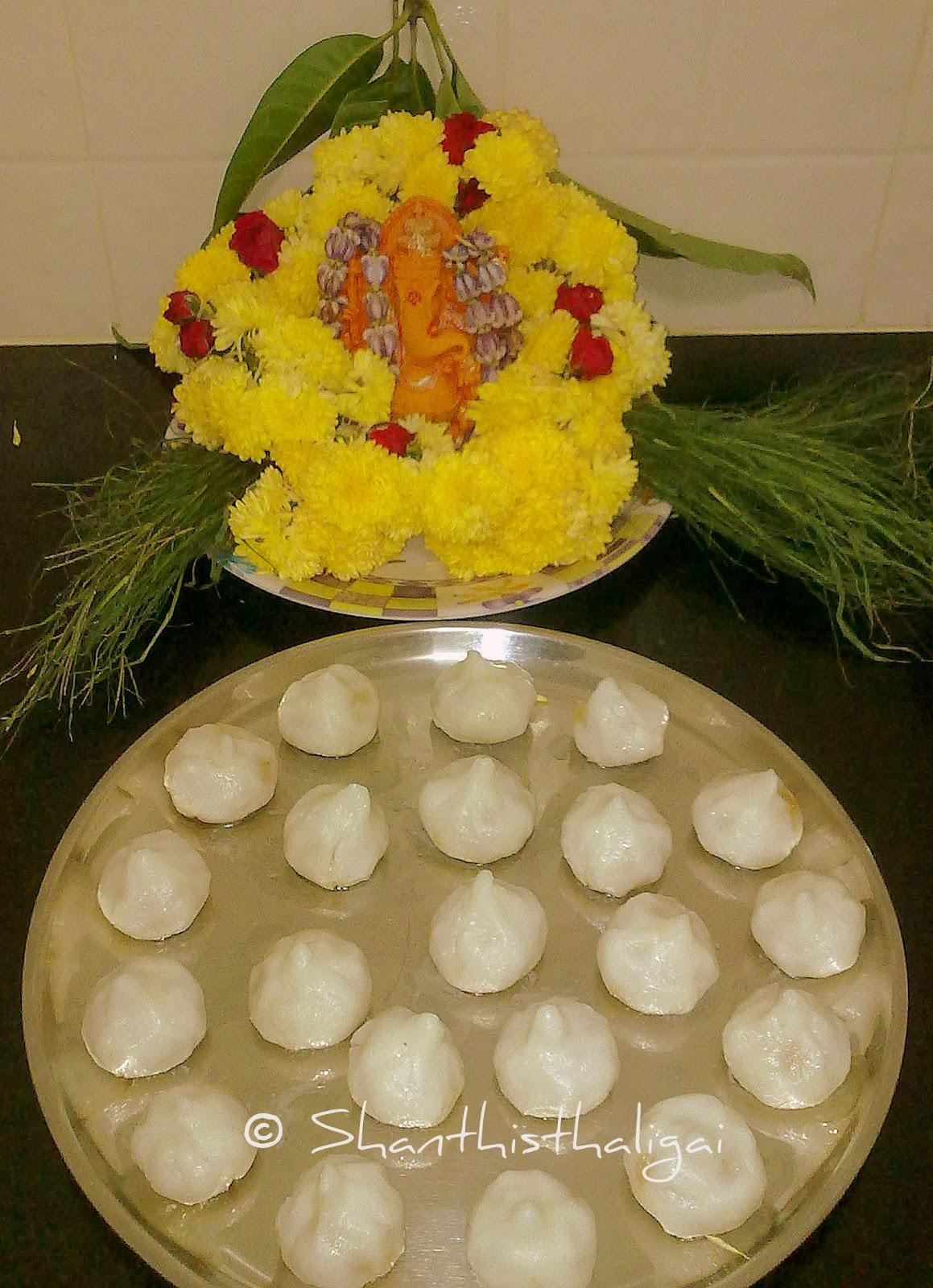 How to make modakam, Modhakam recipe, How to make pillayar kozhukattai, How to make poorna kozhukattai, How to make sweet kozhukattai