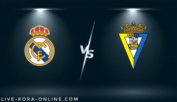 نتيجة مباراة قادش وريال مدريد اليوم بتاريخ 21-04-2021 في الدوري الاسباني