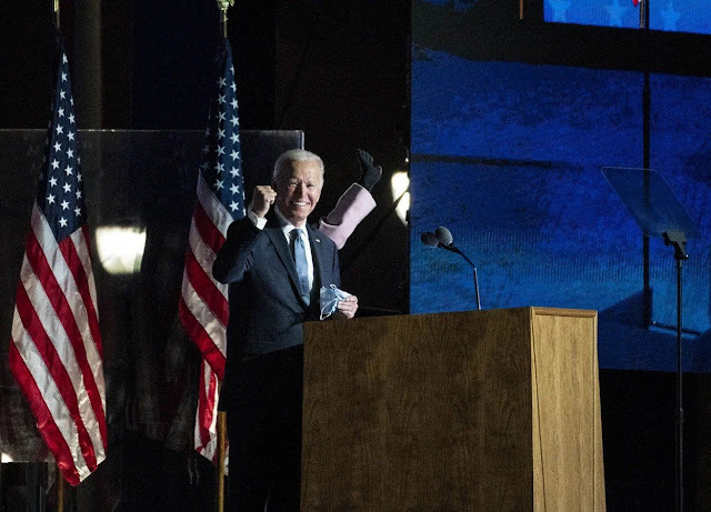 joe biden win US presidential election 2020 - newstrends