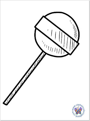 Sweet lollipop coloring page-7