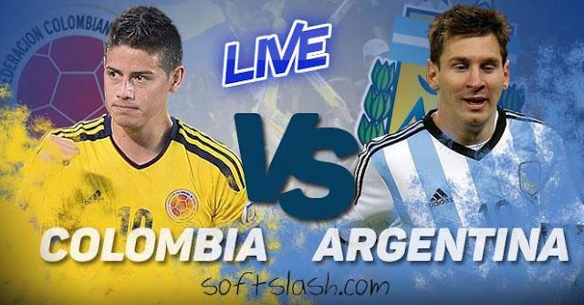 بث مباشر الارجنتين وكولومبيا موقع سوفت سلاش