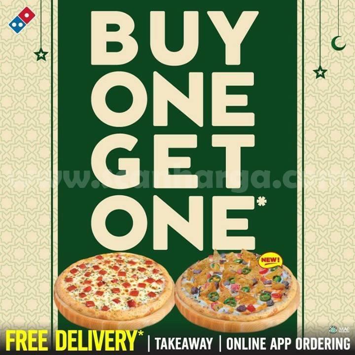 Dominos Pizza Promo Buy 1 Get 1 FREE Pizza