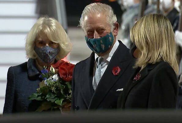 The Prince of Wales and The Duchess of Cornwall will attend The Central Remembrance Ceremony in Berlin to National Day