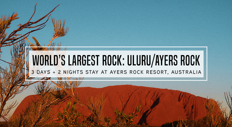 3d2n Visit To The World S Largest Rock Uluru Ayers Rock