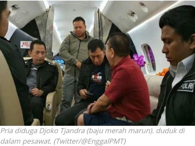 Kacau! Beredar Video Buronan Djoko Tjandra Tak Diborgol, Sewa Pesawat Rp147 Juta per Jam