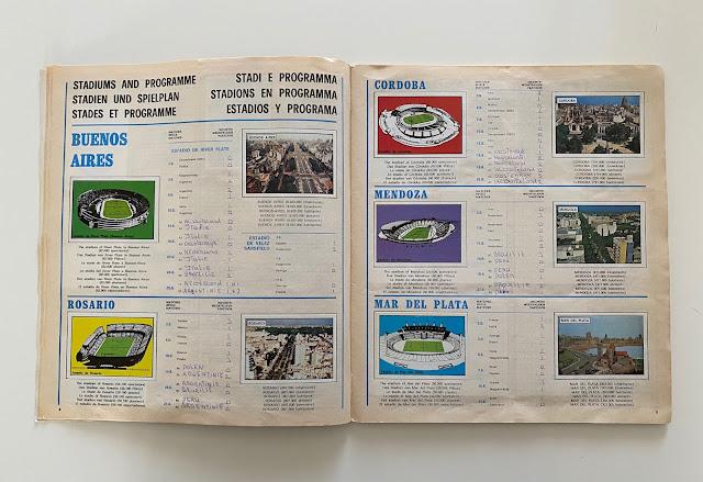 programma stadi argentina 78