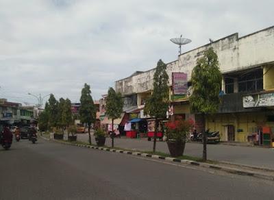 Pemkab Pidie  Remajakan Pohon Glodokan Sepanjang Median Jalan