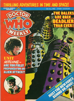 Doctor Who Weekly #31, the Daleks