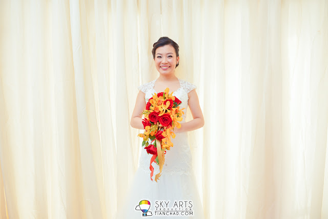 Wedding in Penang Trinity Methodist Church