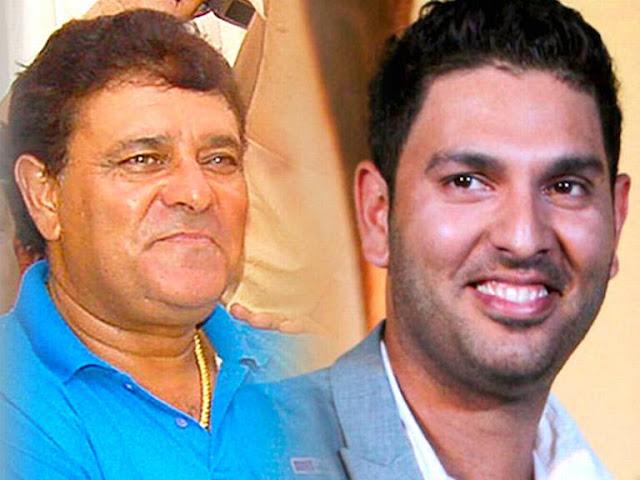 Yograj Singh and Yuvraj Singh (Cricket)