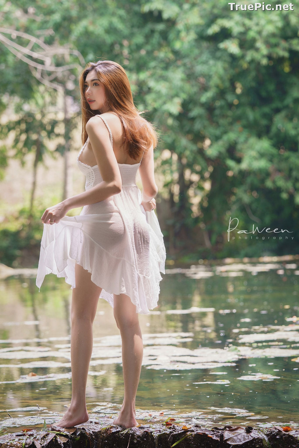 Image Thailand Model - Sirirut Thananet - Beautiful Angel and Small Stream - TruePic.net - Picture-12