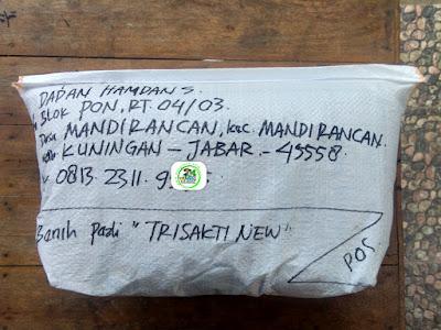 Benih pesanan HENY EF. Ponorogo, Jatim.   (Setelah Packing)