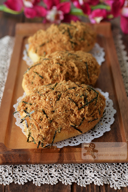 breadtalk breadtop pork floss buns