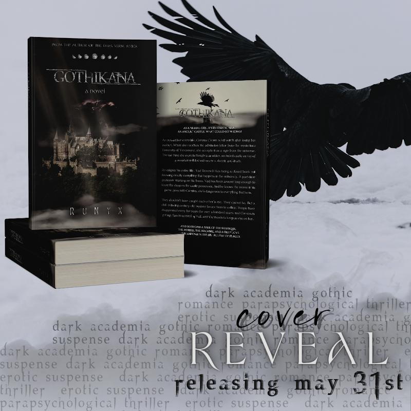Cover Reveal: Gothikana by RuNyx
