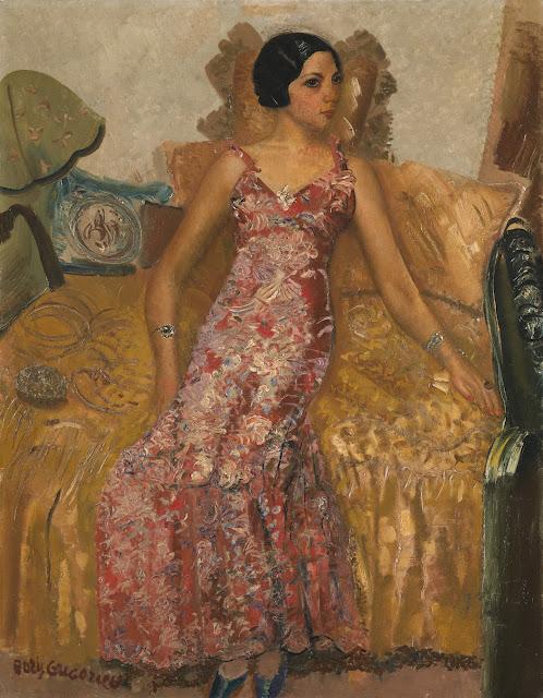 Boris Grigoriev - Portrait of Selma Alexander