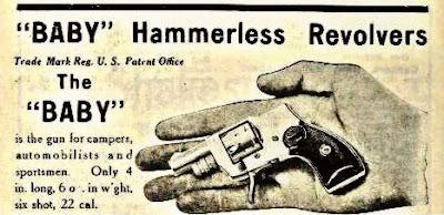 Baby Hamerless Revolvers