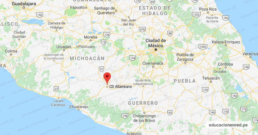 Temblor en México de Magnitud 4.1 (Hoy Jueves 31 Diciembre 2020) Sismo - Epicentro - CD. Altamirano - Guerrero - GRO. - SSN - www.ssn.unam.mx