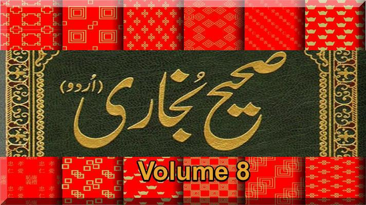 Sahih Al-Bukhari Islami Hadith Urdu Book Volume 8