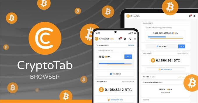 Earn Bitcoin by Crypto Browser Tab Free