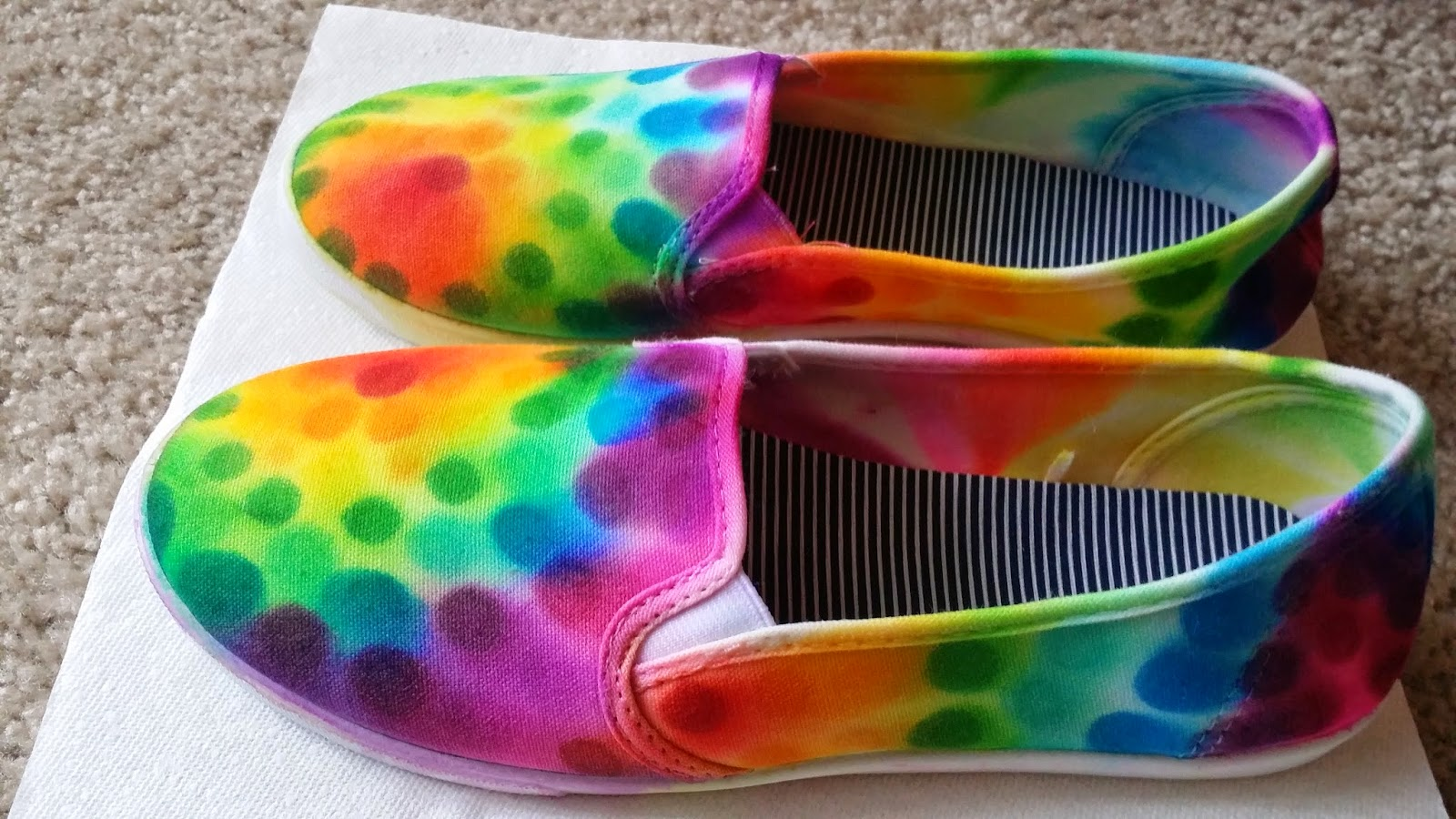 how to dye canvas shoes — crafthubs
