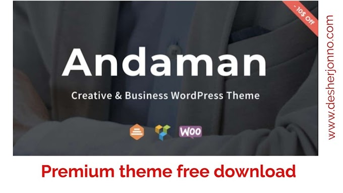 Andaman – Creative & Business premium WordPress Theme free download