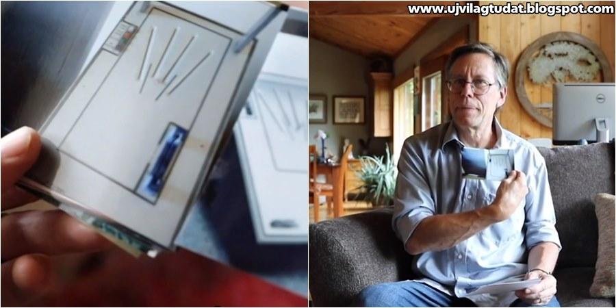 Bob Lazar történetét egy titkos kéz szkennerről készült megdöbbentő