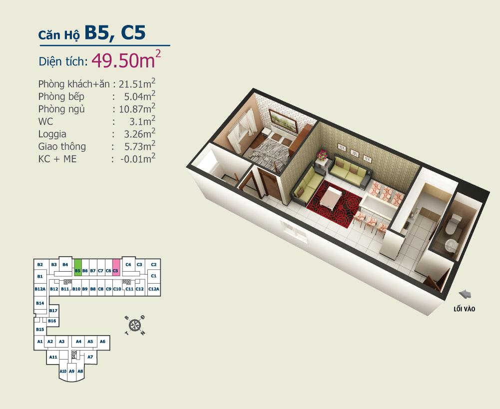 B5 C5