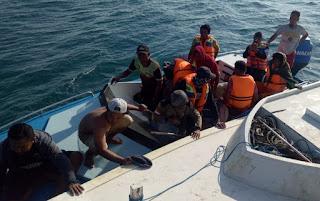 Wawali Bima Terima Informasi Adanya Nelayan Kobi Terdampar di Kepulauan Sakala Sumenep