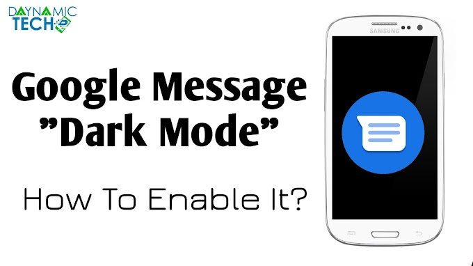 How To Enable Dark Mode In Google Message