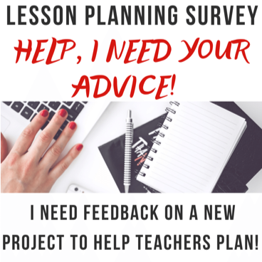 Lesson Planning, New Teacher Lesson Planning