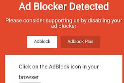 Tutorial Cara Memasang Adblock Killer Versi Terbaru