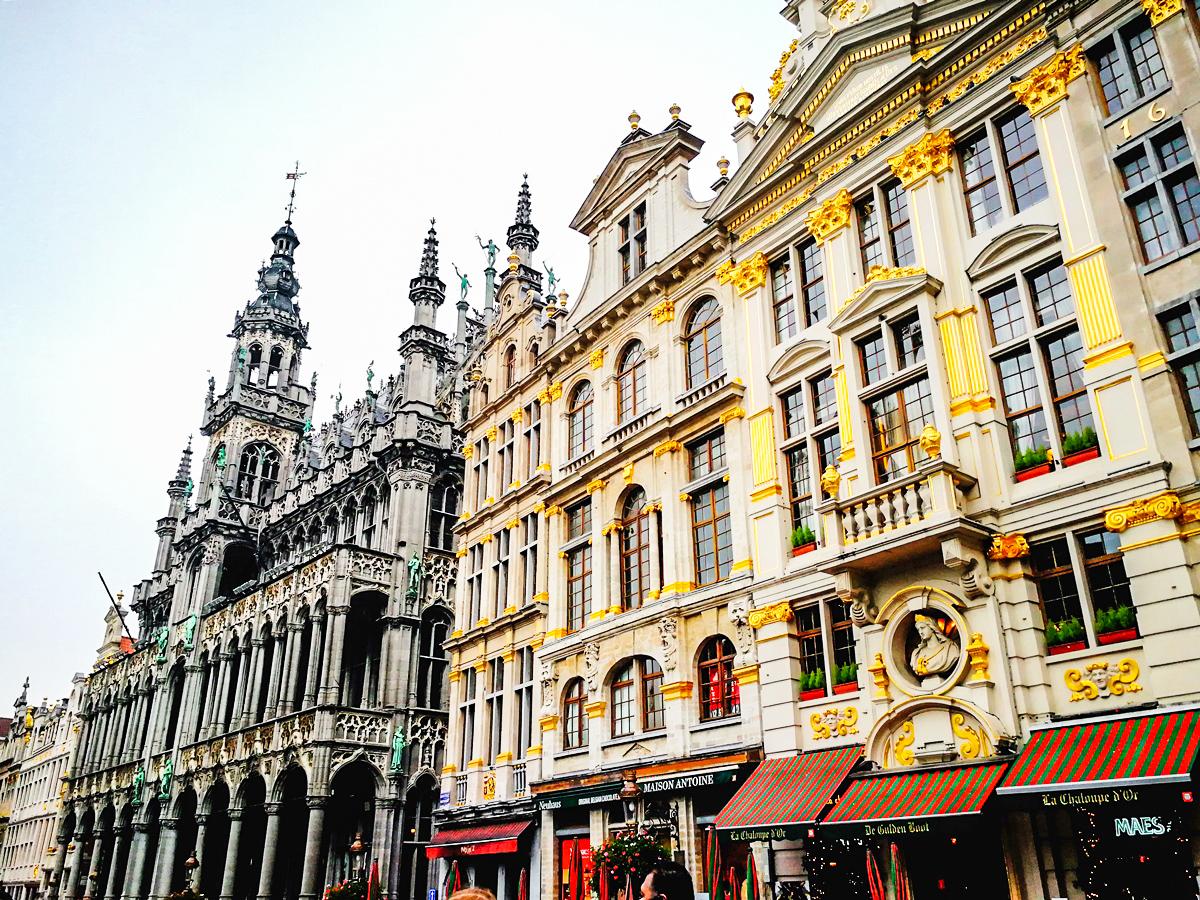 Bruksela świątecznie Czokomorena
