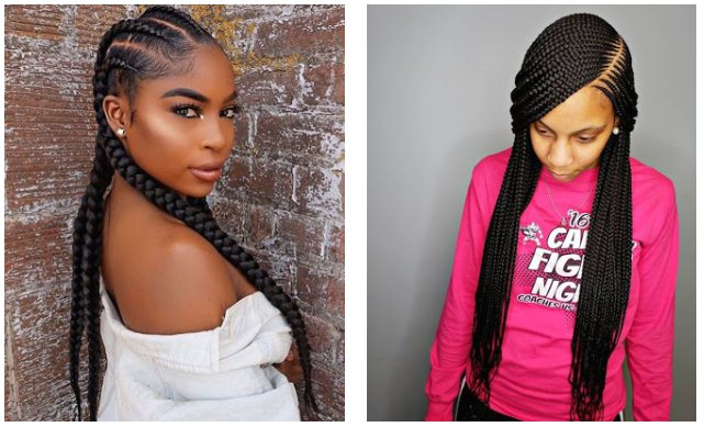 Ghana Braids Hairstyles For Black Women Right Now