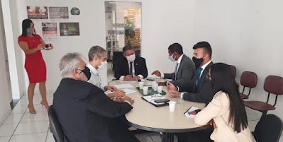 No Sertão de Alagoas, PGJ Márcio Roberto discute implantação de casa de acolhimento e ouve demandas de promotores de Justiça