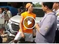 Viral! Gara-gara Mobil Diderek, Pengendara vs Dishub Duel