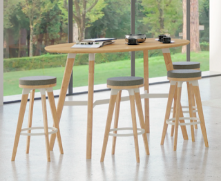 safco resi standing table