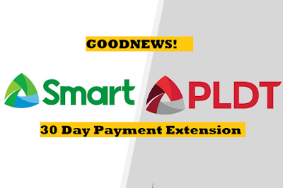 PLDT and Smart Announces 30 day Payment Extension Period