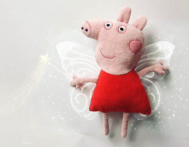 how to sew a Peppa Pig
