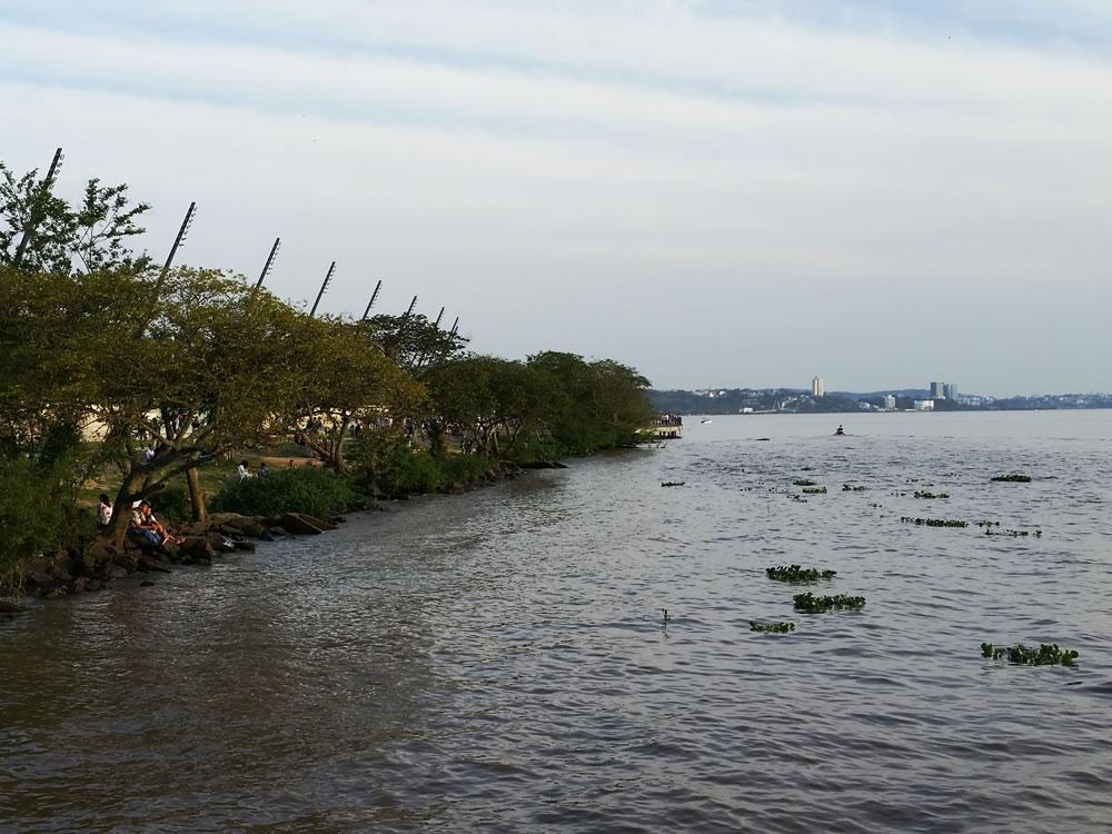 Orla do Guaíba Porto Alegre