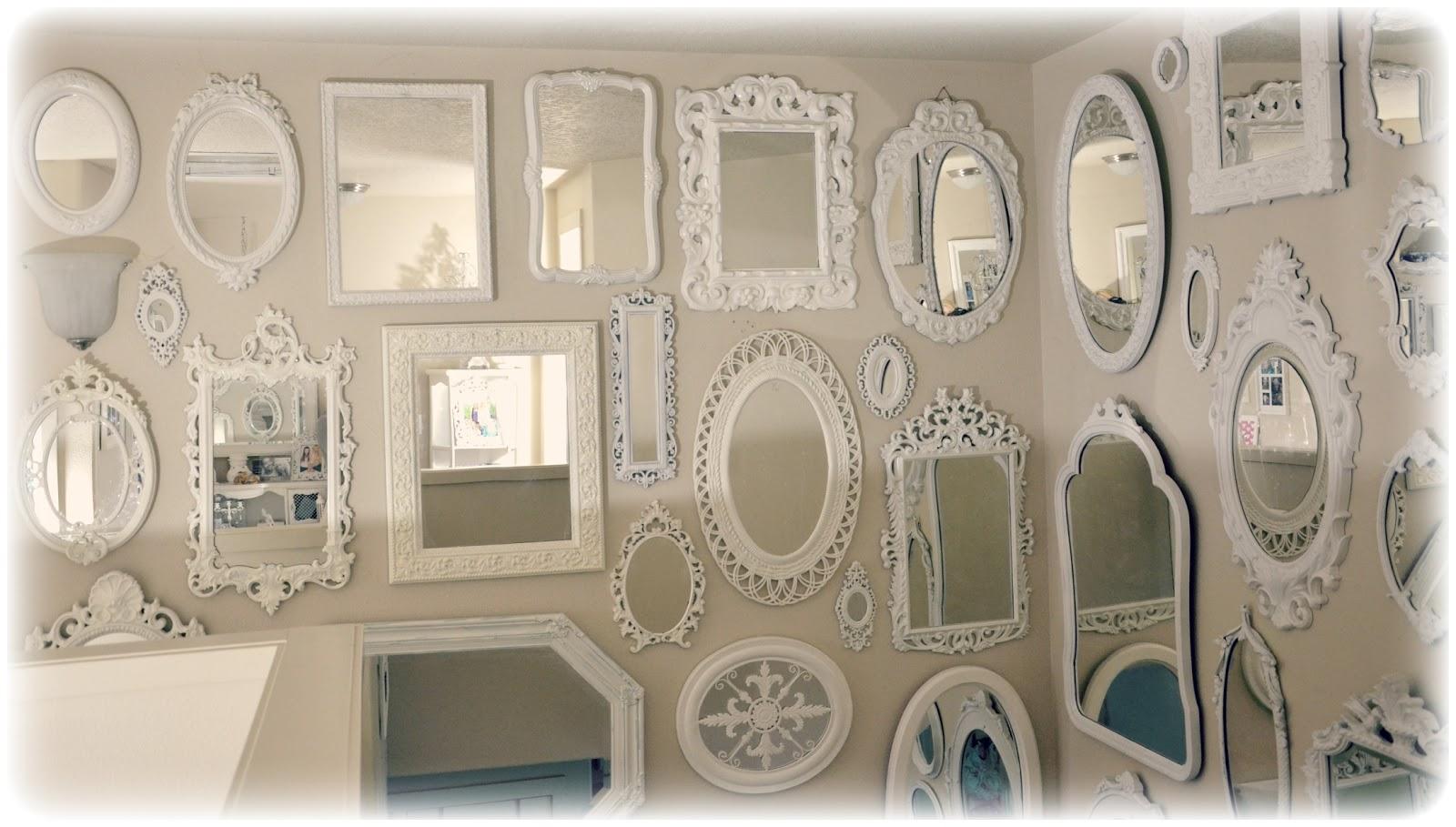 Shabby Chic: More Mirrors Mirrors Mirrors