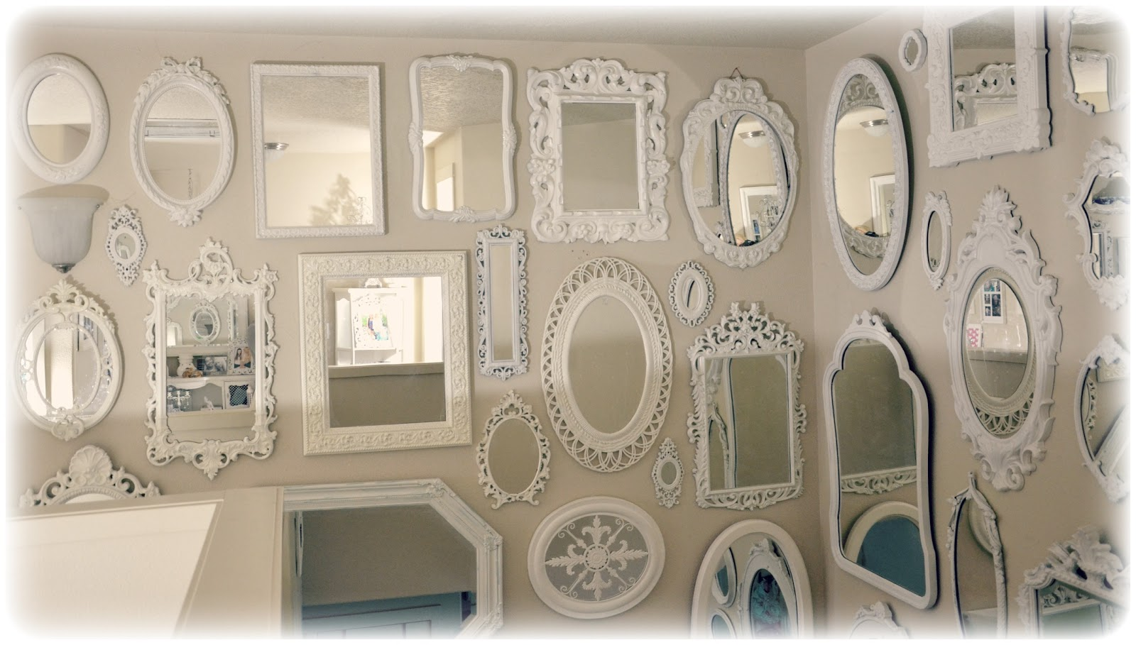 Not So Shabby - Shabby Chic: More Mirrors Mirrors Mirrors!