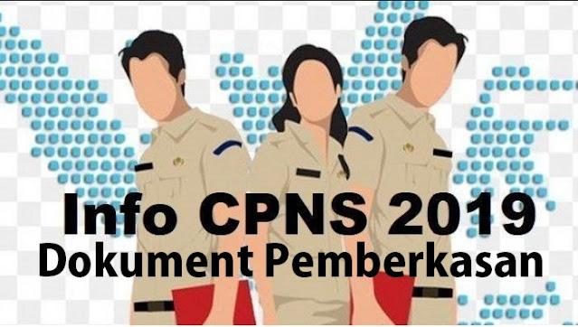 Daftar Dokumen Untuk Pemberkasan CPNS 2019 Resmi dari Portal cpns.bpk.go.id