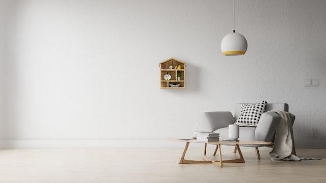 Warna Netral untuk ruang tamu minimalis