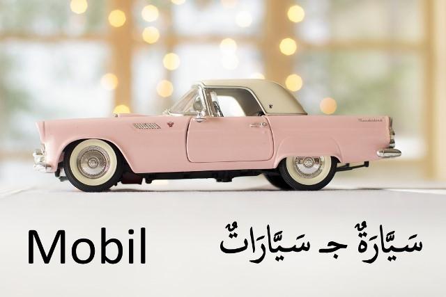 bahasa arab mobil