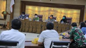 Pemkot Tangerang Bersama Stakeholders Perdagangan Dan Jasa Bahas Pelaksanaan Protokol Kesehatan